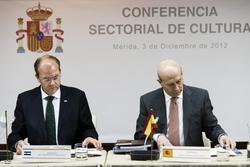 Gobex conferencia sectorial de cultura el presidente del gobierno de extremadura jose antonio monago dam preview