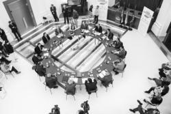 Gobex firma fundacional plataforma 3er s el presidente del gobierno de extremadura jose antonio mona dam preview
