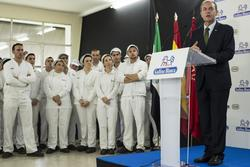 Gobex 75 aniversario de gallina blanca el presidente del gobierno de extremadura jose antonio monago dam preview