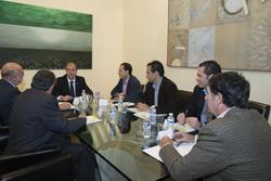 Gobex reunion con afruex el presidente del gobierno de extremadura jose antonio monago mantiene una  dam preview