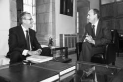 Gobex monago se reune con el rector el presidente del gobierno de extremadura jose antonio monago se dam preview