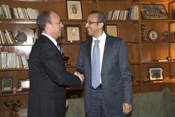 Gobex recepcion del consul marruecos el presidente del gobierno de extremadura jose antonio monago r dam preview