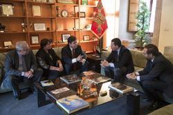 Gobex reunion con el embajador de cuba el presidente del gobierno de extremadura jose antonio monago dam preview