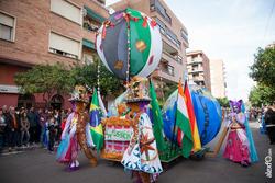 Comparsa la fussion desfile de comparsas carnaval de badajoz 4 dam preview