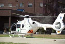 Vehiculos helicoptero en el hospital infanta cristina dam preview