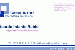 Canal intro eduardo infante rubio dam preview
