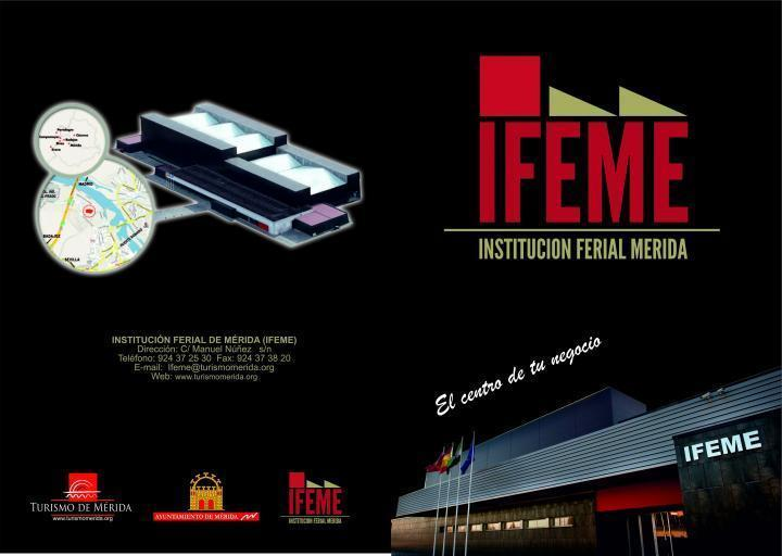 FOLLETO DE IFEME FOLLETO DE IFEME