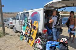 Nuestras actividades ka llegando a dar las clases a la costa de caparica dam preview