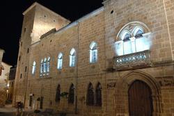 Plasencia monumental palacio de los monrroy o casa de las dos torres dam preview
