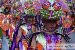 Desfile infantil de comparsas 2012 bamboleo se camufla en el color del carnaval dam preview