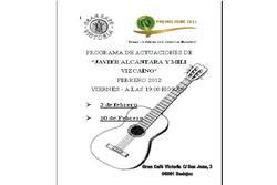 Programas de febrero programa de los conciertos de javier alcantara y mili vizcaino dam preview