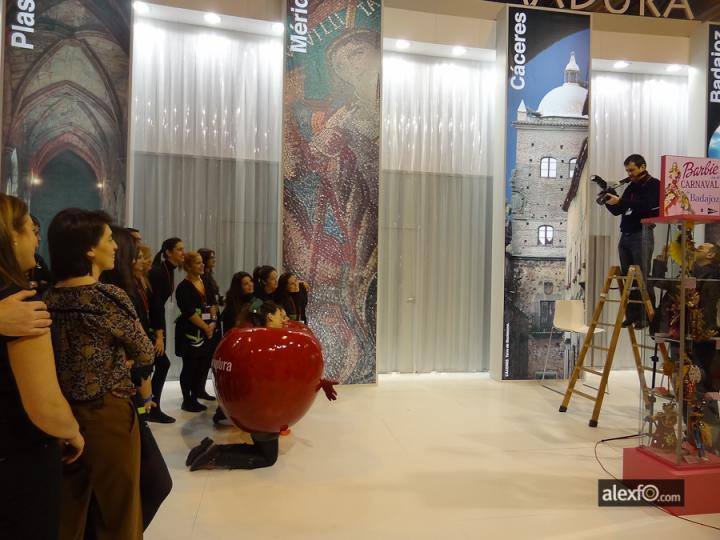Fitur 2012 - Making off Personal y Azafatas Fitur 2012