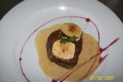 Recetas lugris solomillo de ternera de extremadura con salsa de jamon y rollito de queso dam preview