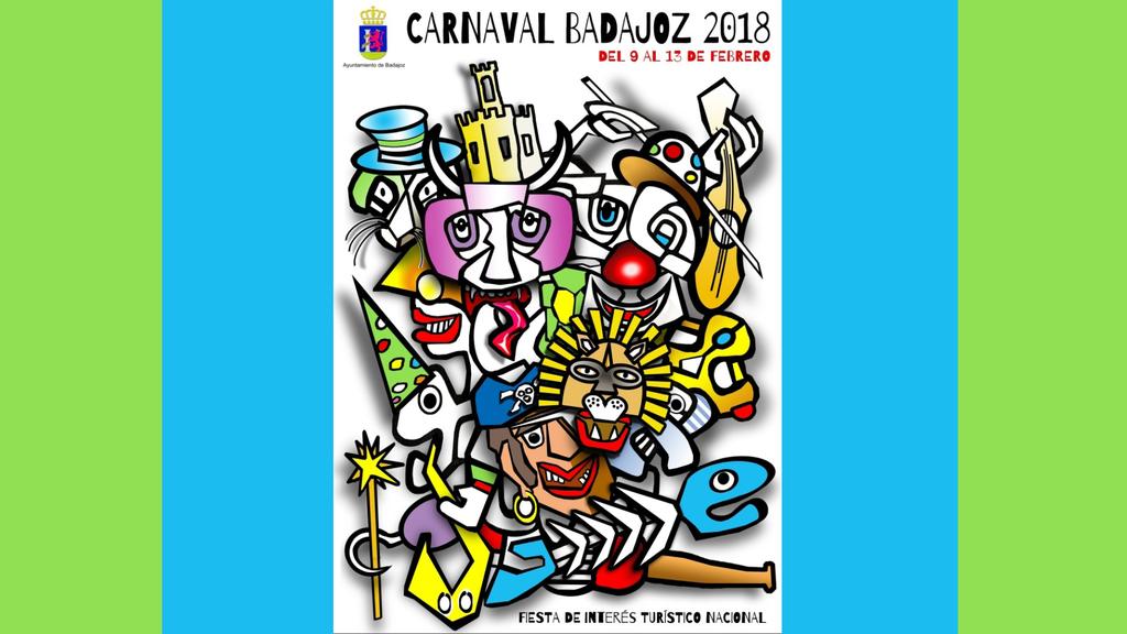 carnaval badajoz 2018 cartel