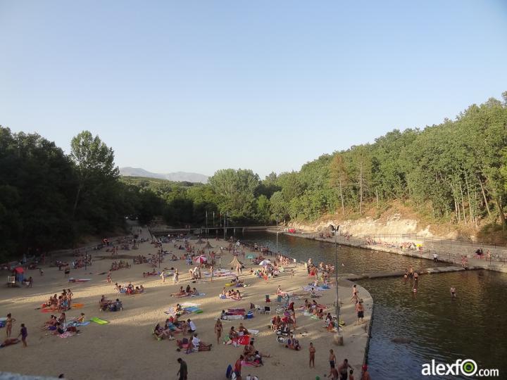 la red social sobre extremadura piscinas naturales en la