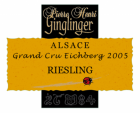 GINGLINGER, RIESLING 2009