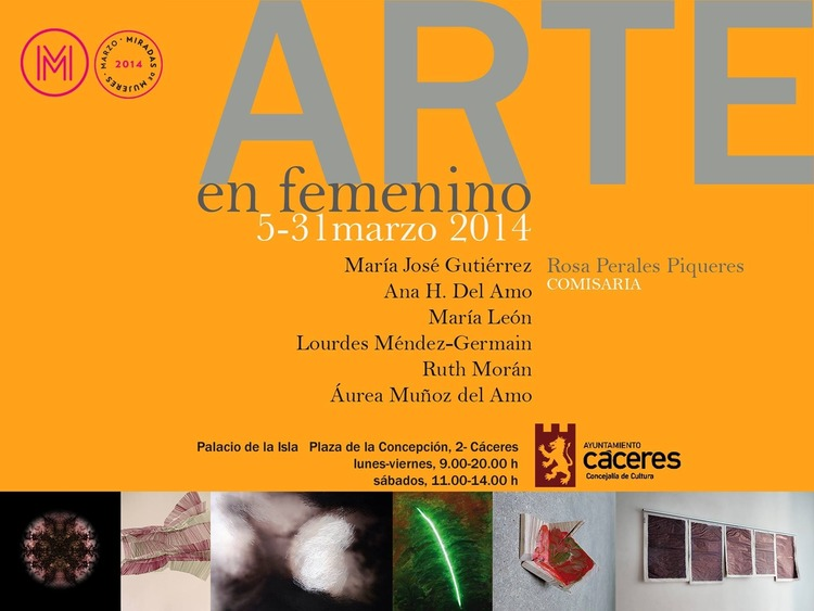 Normal exposicion arte en femenino