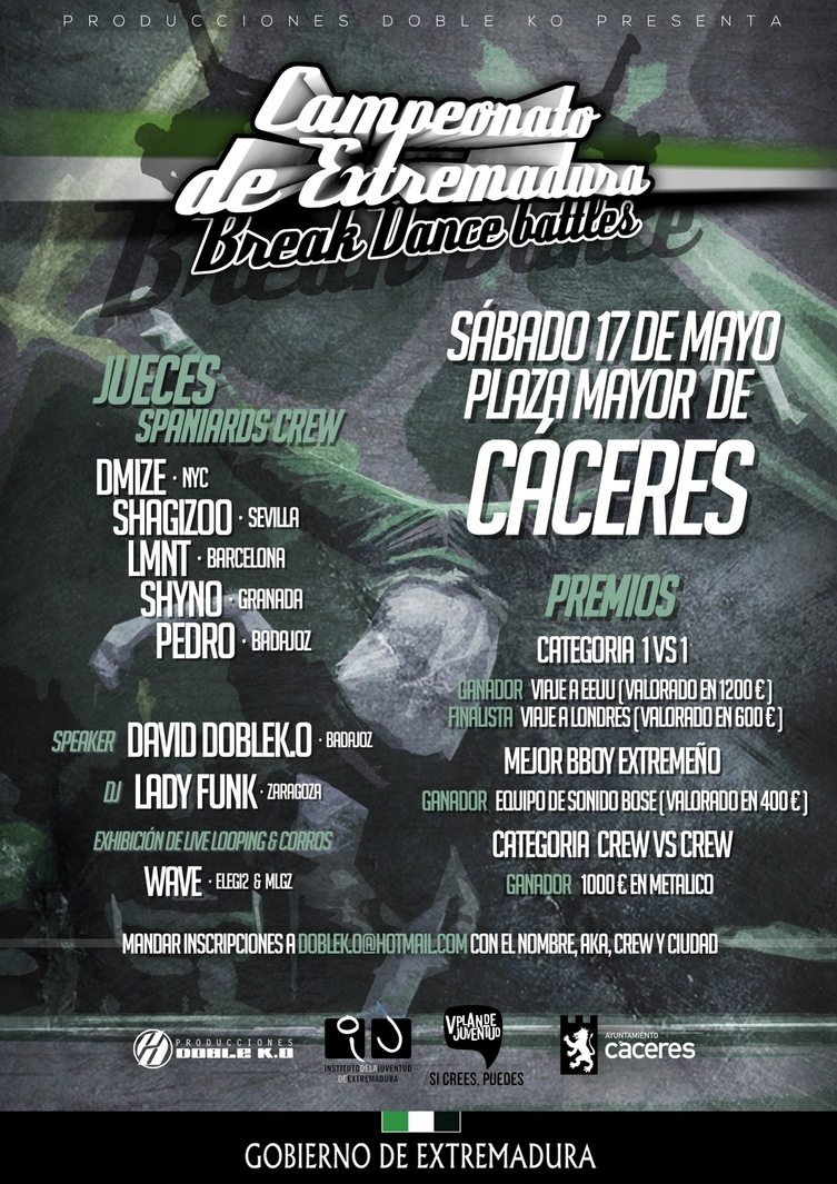 Normal iii campeonato de extremadura de break dance
