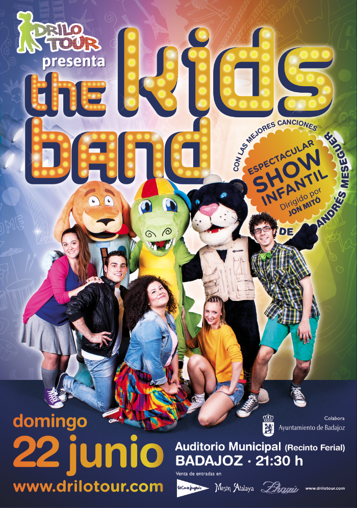 Normal espectaculo musical infantil the kids band