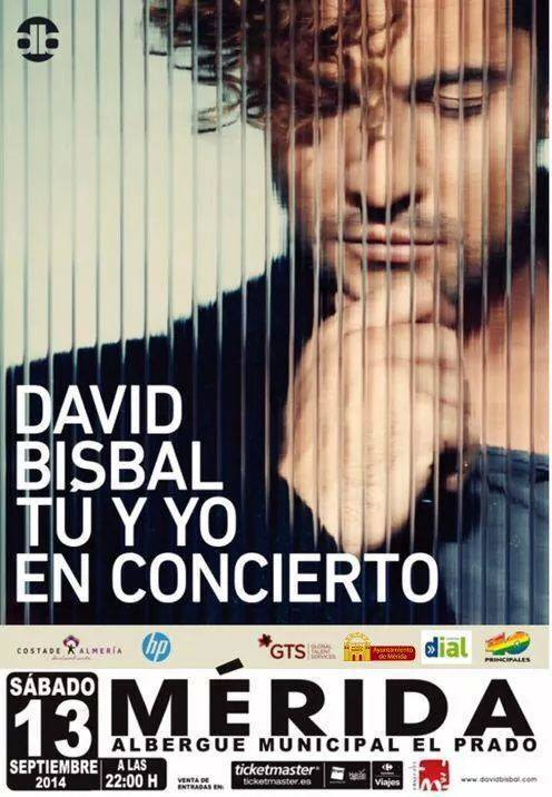 Normal david bisbal en merida