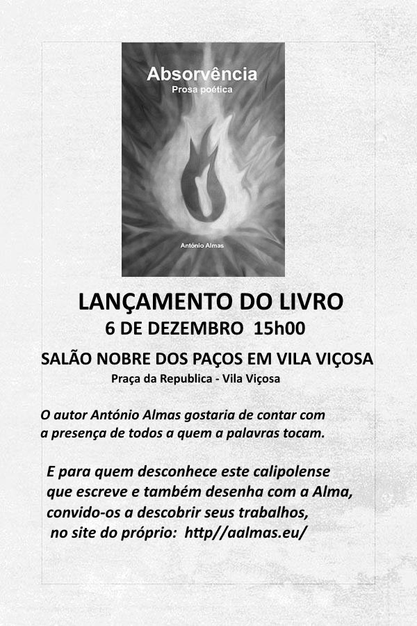 Normal lancamento do livro absorvencia prosa poetica