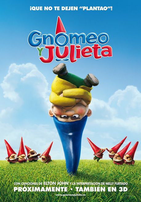 Normal cine gnomeo y julieta