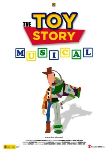 Normal the toy story musical en badajoz