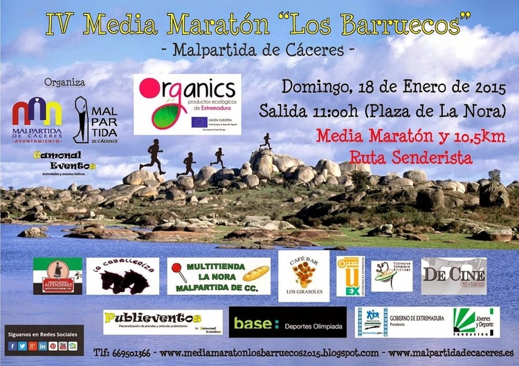 Normal iv media maraton los barruecos