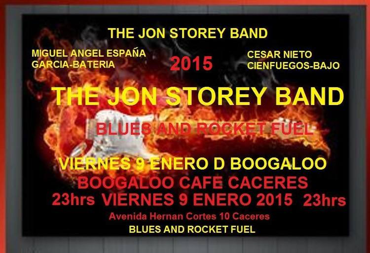 Normal concierto jon storey band caceres
