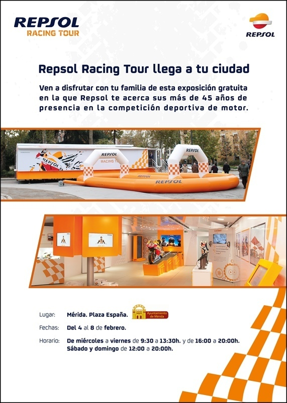 Normal exposicion repsol racing tour merida