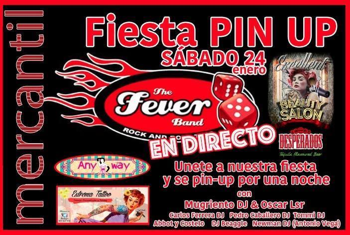 Normal the fever band en concierto fiesta pin up badajoz