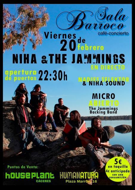 Normal niha the jammings concierto caceres