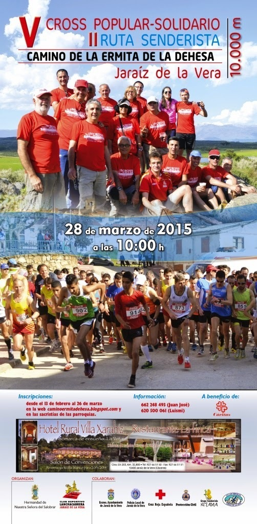 Normal v carrera popular y ruta senderista