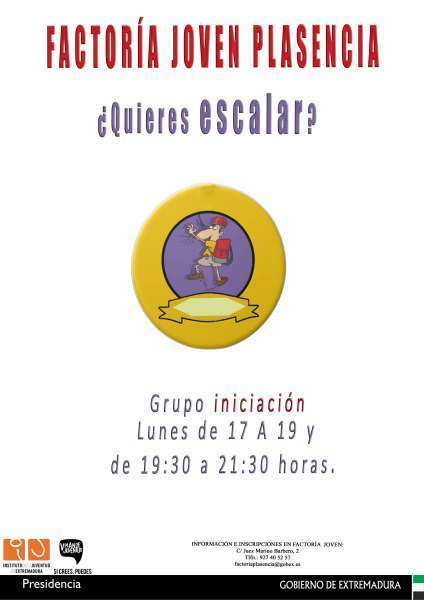 Normal taller de escalada en plasencia