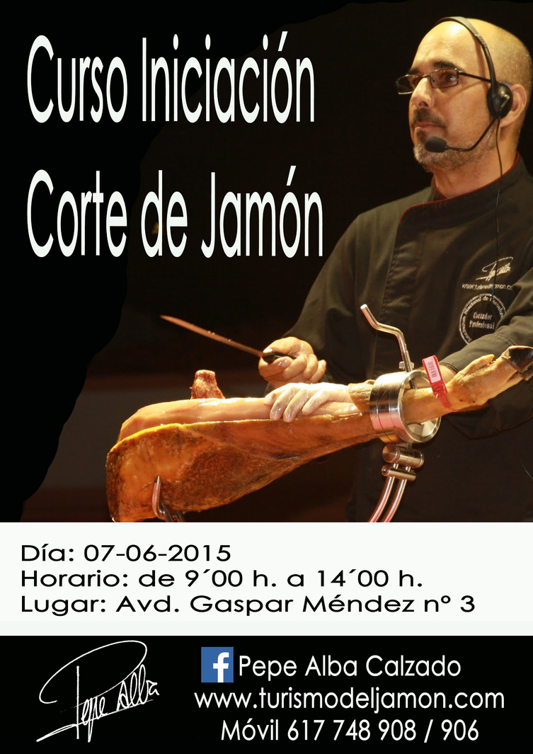 Normal curso iniciacion corte de jamon