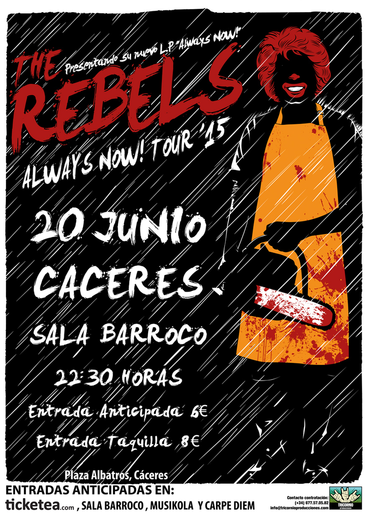 Normal the rebels caceres