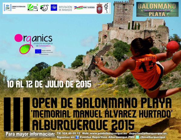 Normal iii open de balonmano playa manuel alvarez hurtado de alburquerque