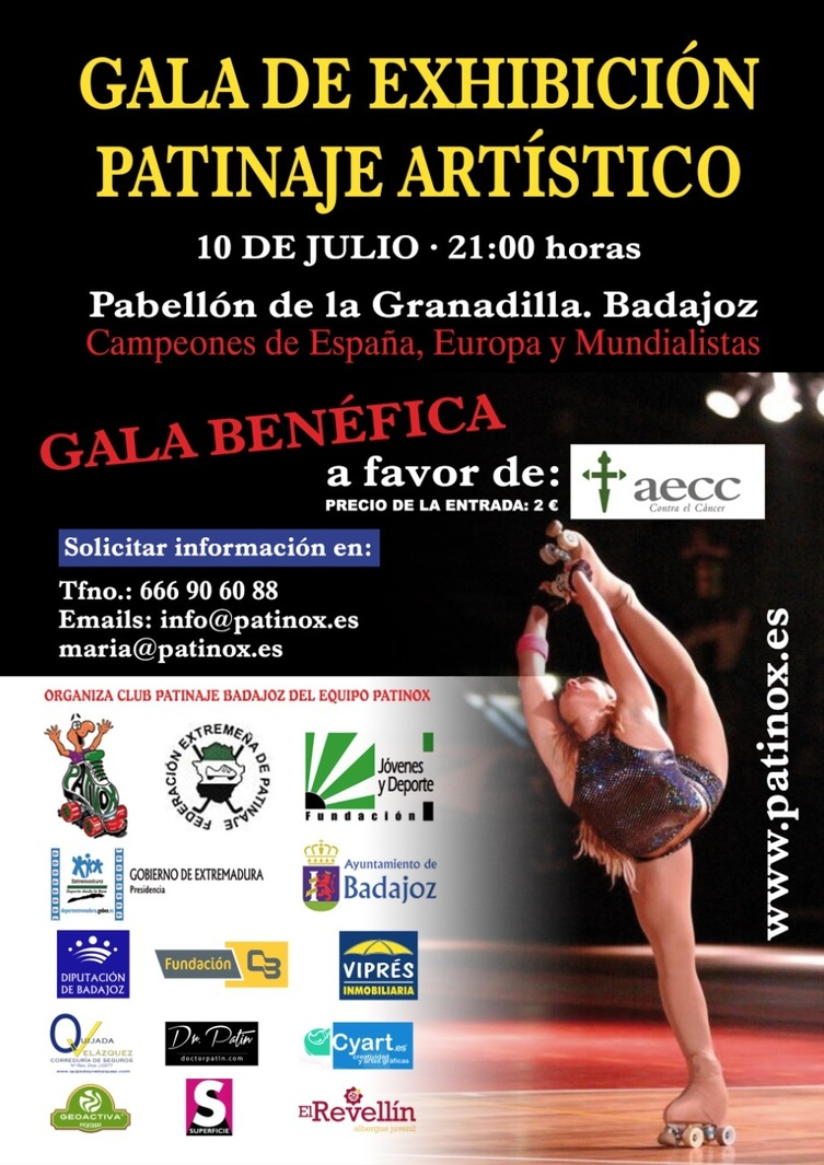 Normal gala exhibicion de patinaje badajoz