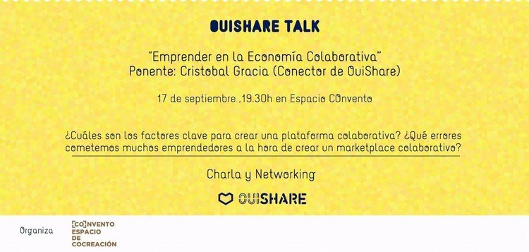 Normal ouishare talk charla y networking