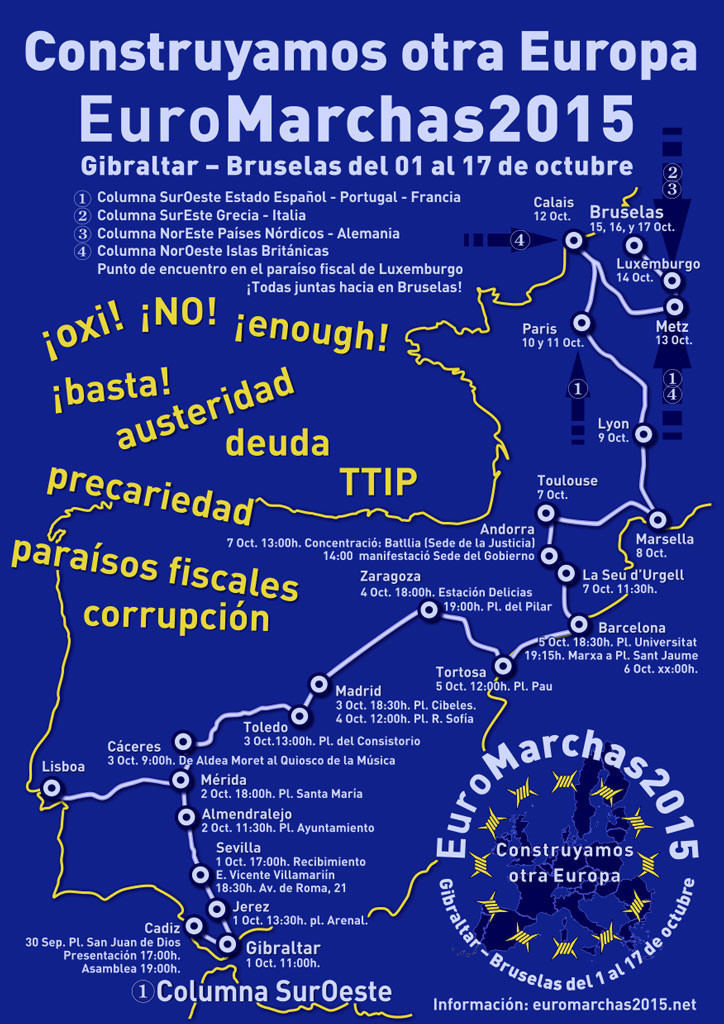 Normal euromarchas 2015