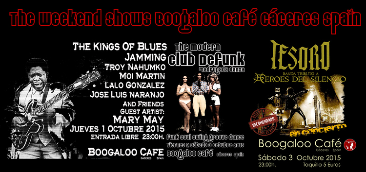 Normal the weekend shows bogaloo cafe caceres