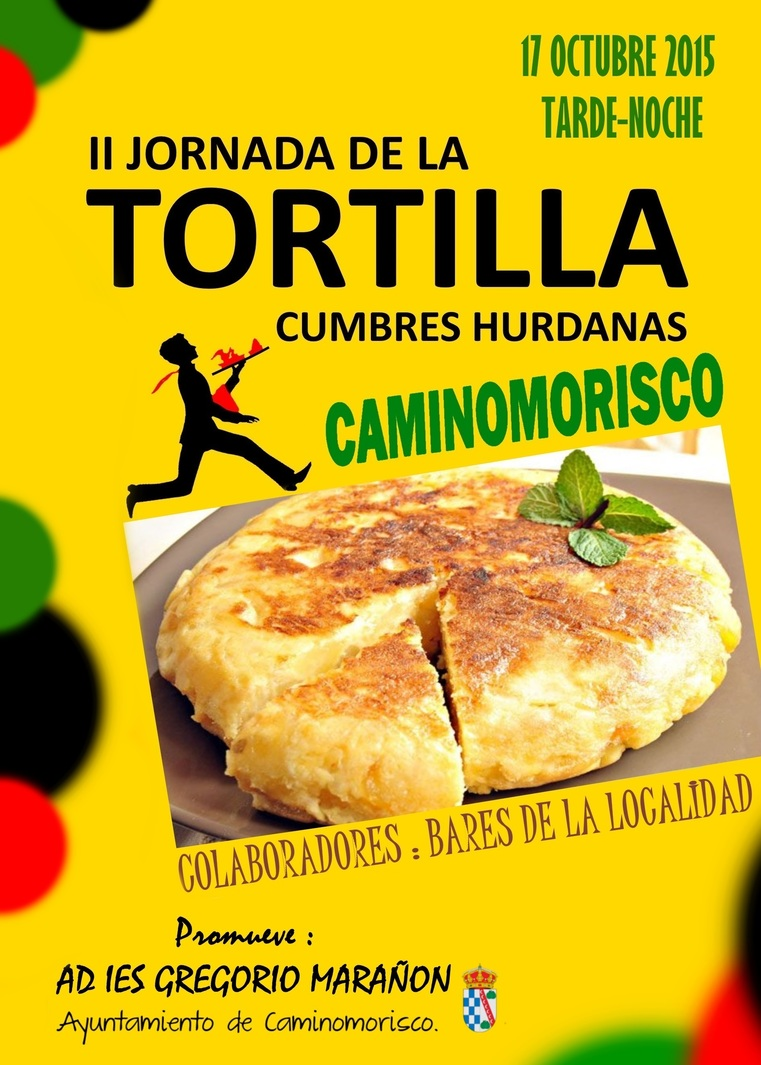 Normal ii jornada de la tortilla caminomorisco
