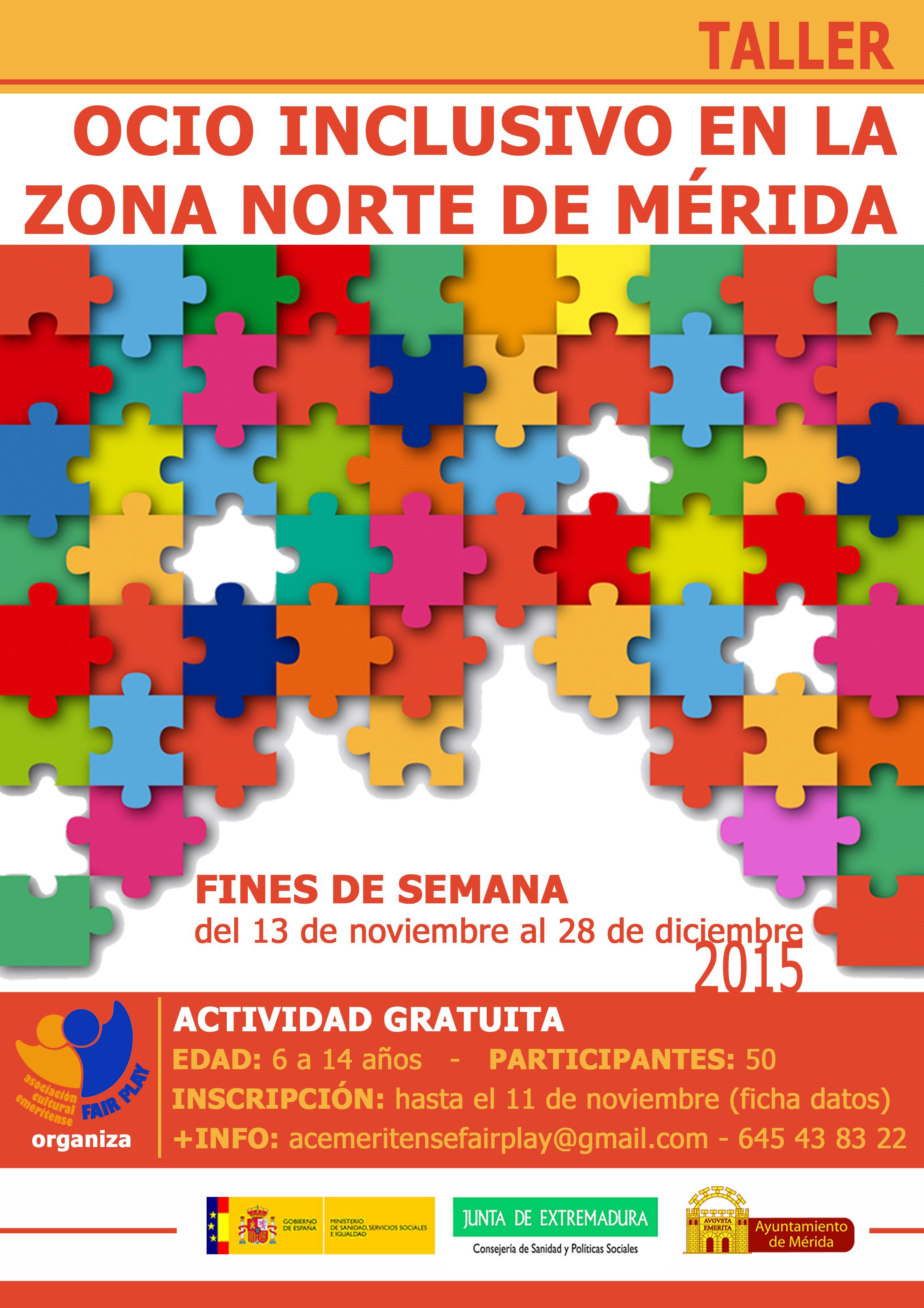 Taller Ocio Inclusivo En La Zona Norte De M Rida Curso
