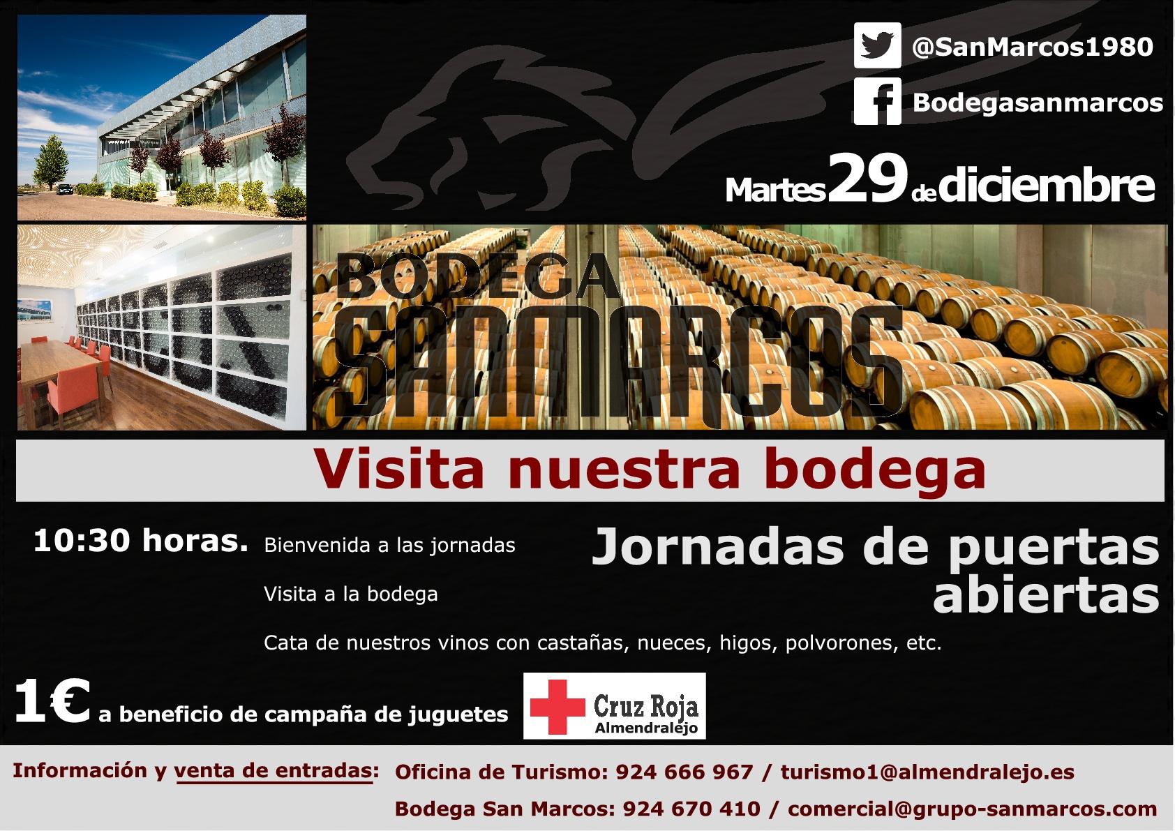 Jornada de puertas abiertas bodega san marcos for Puerta 8 san marcos