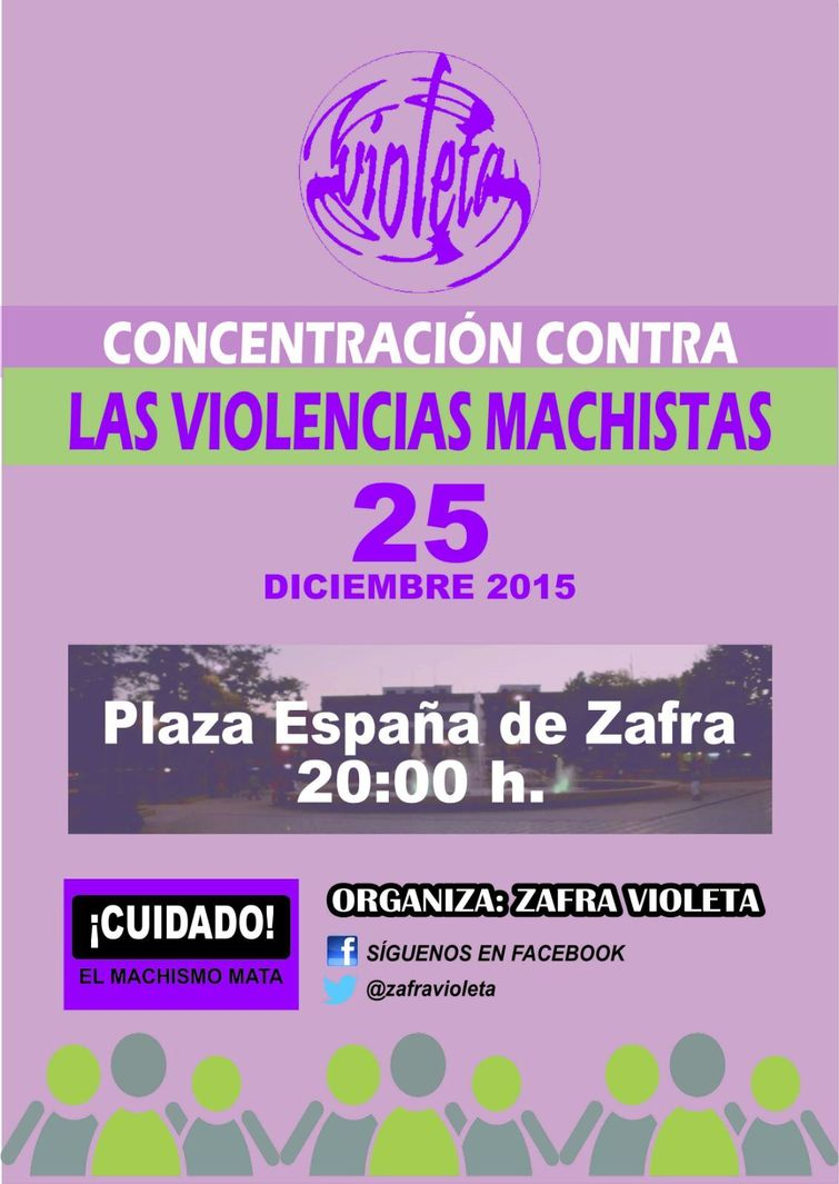 Normal concentracion contra las violencias machistas zafra