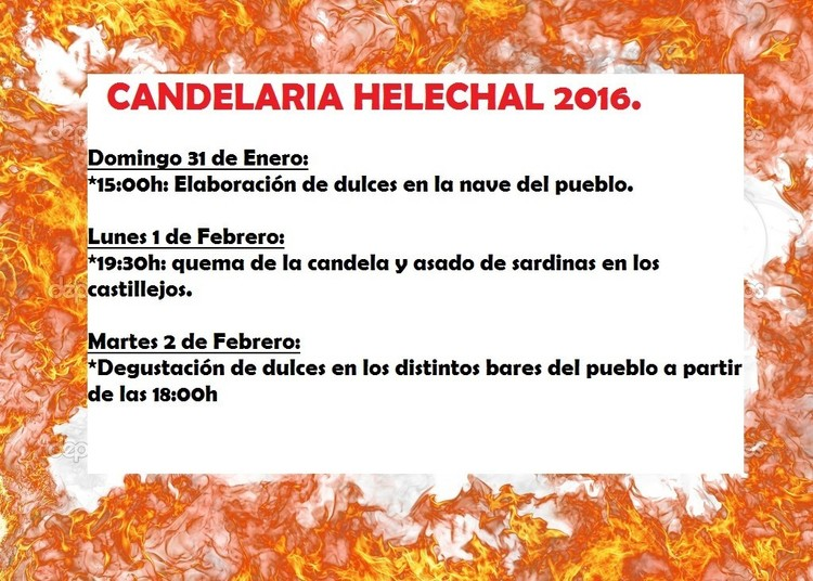 Normal candelaria de helechal