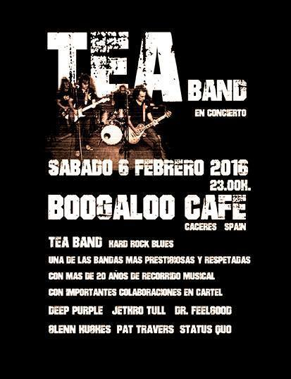 Normal concierto tea band en caceres