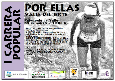 Normal i carrera popular por ellas valle del jerte en cabezuela del valle