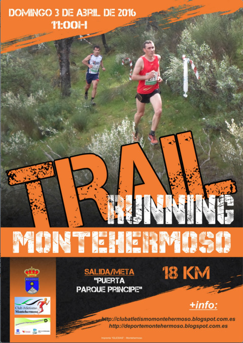 Normal iv trail running 2016 en montehermoso