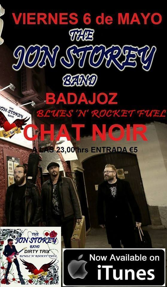 Normal concierto the jon storey band en badajoz